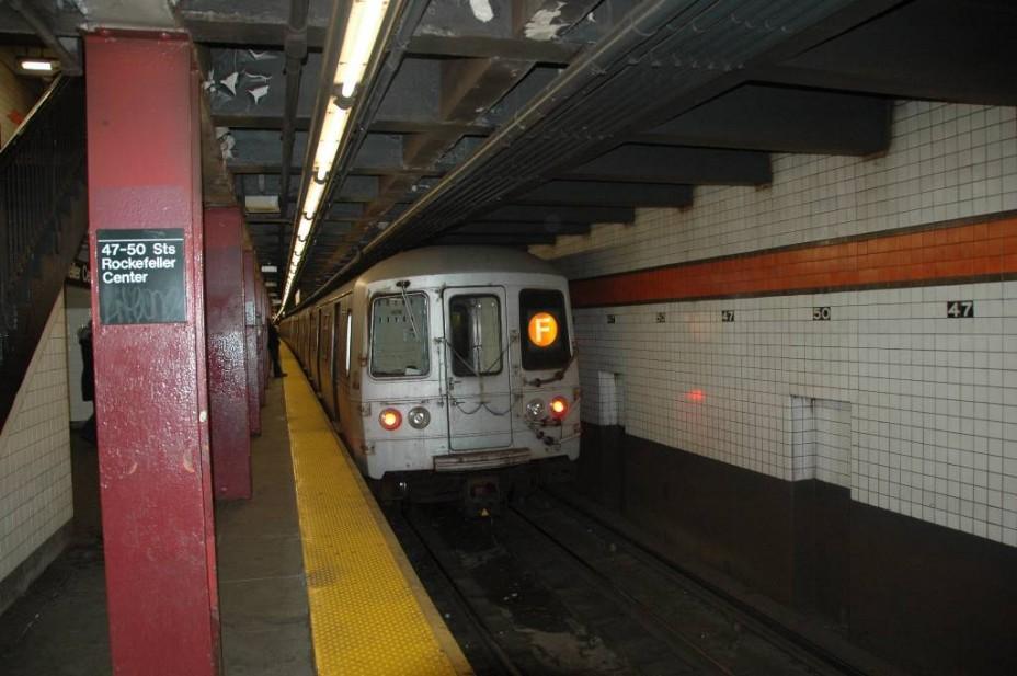 схема станций метро нью йорка