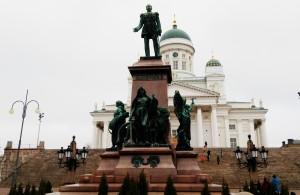 Хельсинки памятник Александру II