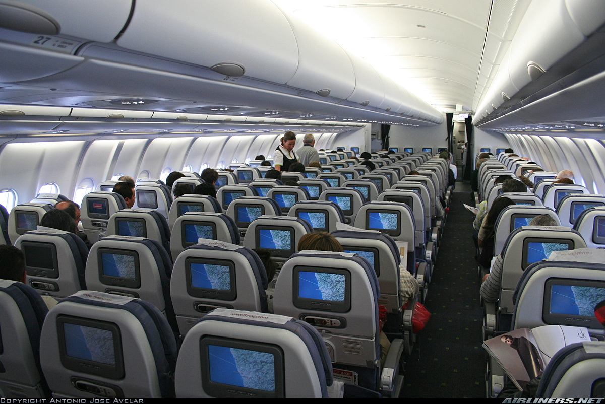 Airbus a330 300 фото салона