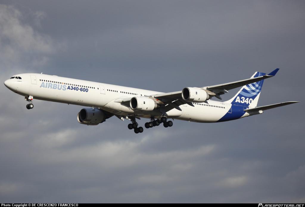 Какой самолет самый безопасный в мире: Airbus A340